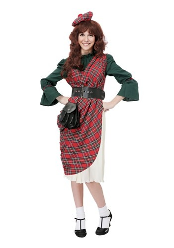 Scottish Lassie Costume for Women