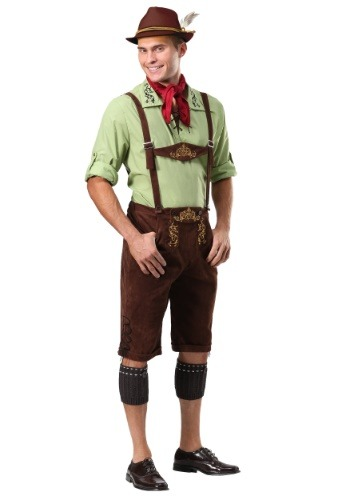 Alpine Lederhosen Costume for Men