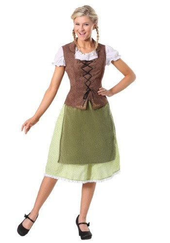Click Here to buy German Beer Girl Costume for Adults from HalloweenCostumes, CDN Funds & Shipping