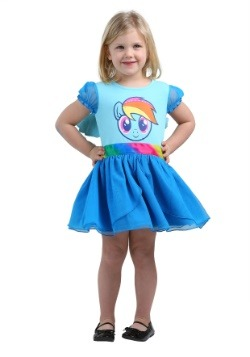 MLP Rainbow Dash Tulle Costume Dress