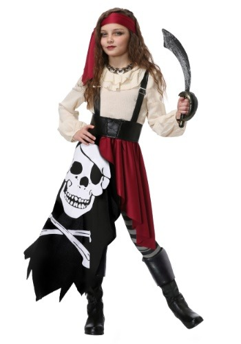 Girl's Pirate Flag Gypsy