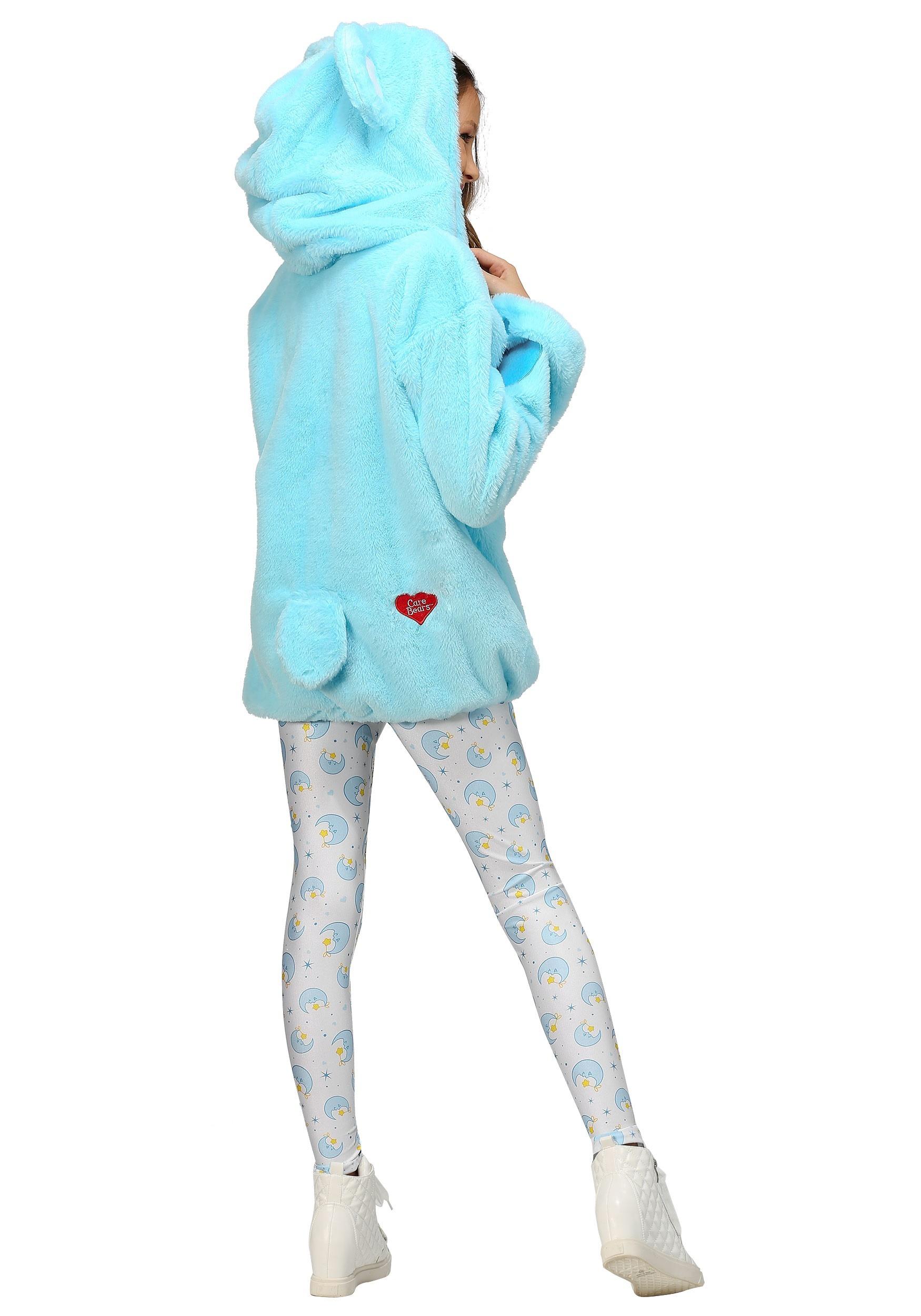 Care Bears Deluxe Bedtime Bear Hoodie Costume for Tweens