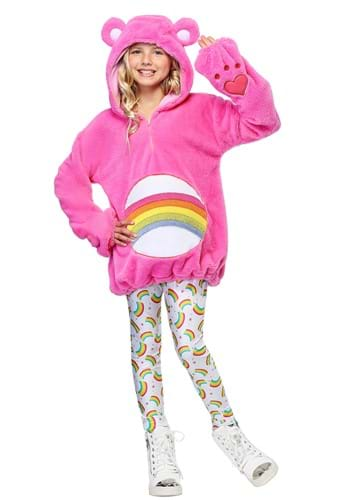 Click Here to buy Care Bears Deluxe Cheer Bear Kids Costume from HalloweenCostumes, CDN Funds & Shipping