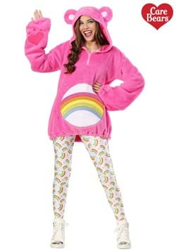 Care Bears Women's Deluxe Cheer Bear Hoodie Costume