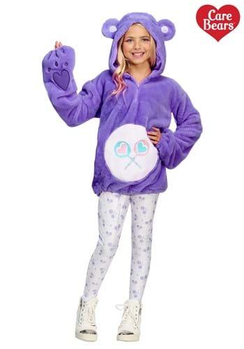 Care Bears Deluxe Tween Share Bear Hoodie Costume