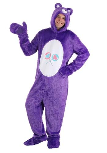 Click Here to buy Care Bears Adult Classic Share Bear Costume from HalloweenCostumes, CDN Funds & Shipping