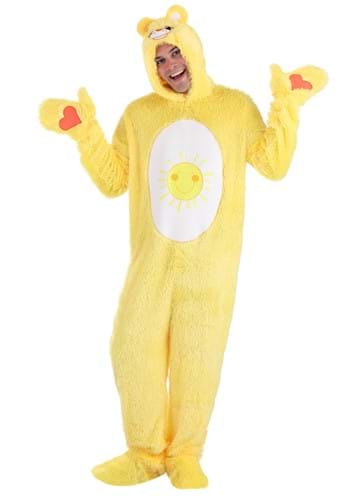 Click Here to buy Care Bears Adult Classic Funshine Bear Costume from HalloweenCostumes, CDN Funds & Shipping