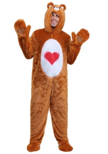 Click Here to buy Care Bears Adult Classic Tenderheart Bear Costume from HalloweenCostumes, CDN Funds & Shipping