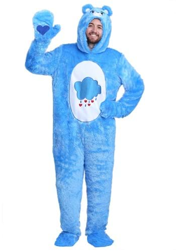 Click Here to buy Care Bears Classic Grumpy Bear Costume for Adults from HalloweenCostumes, CDN Funds & Shipping