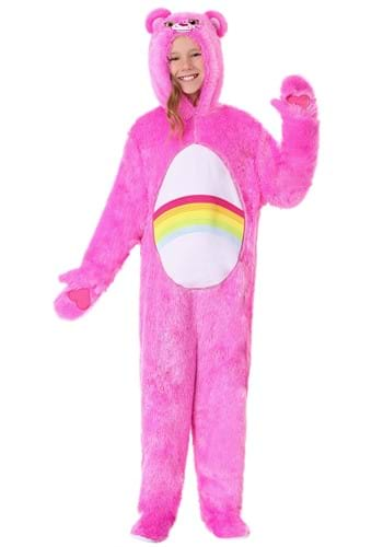 Click Here to buy Care Bears Kids Classic Cheer Bear Costume from HalloweenCostumes, CDN Funds & Shipping