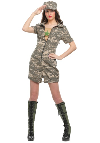 Click Here to buy Womens Military Officer Costume from HalloweenCostumes, CDN Funds & Shipping