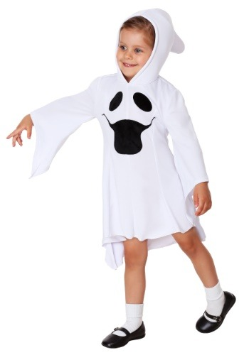 Girls Gorgeous Ghost Costume for Toddlers