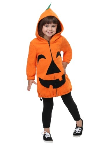 Playful Pumpkin Costume for a Toddler