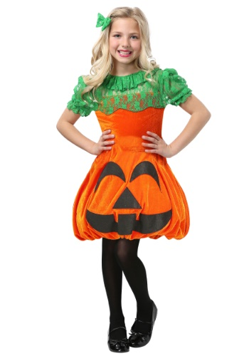 Pretty Pumpkin Costume for Girls
