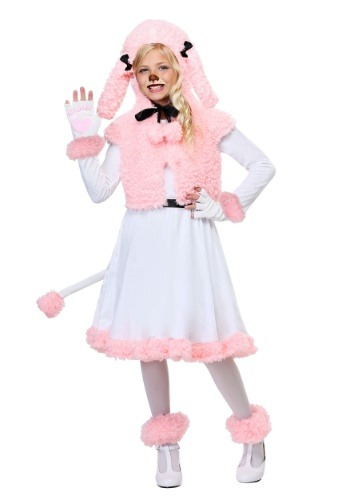 Child Pink Poodle Costume