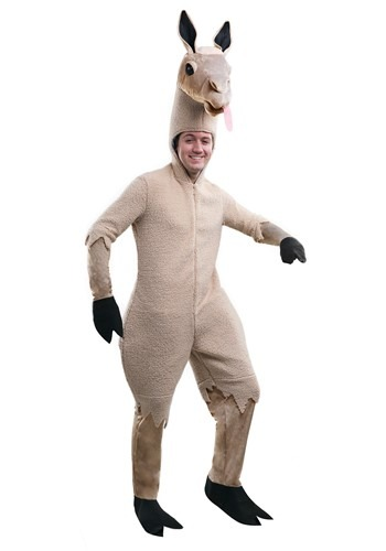 Click Here to buy Adult Llama Costume from HalloweenCostumes, CDN Funds & Shipping