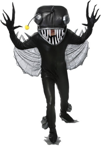 Click Here to buy Angler Fish Costume for Adults from HalloweenCostumes, CDN Funds & Shipping