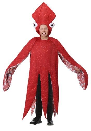 Childs Squid Costume