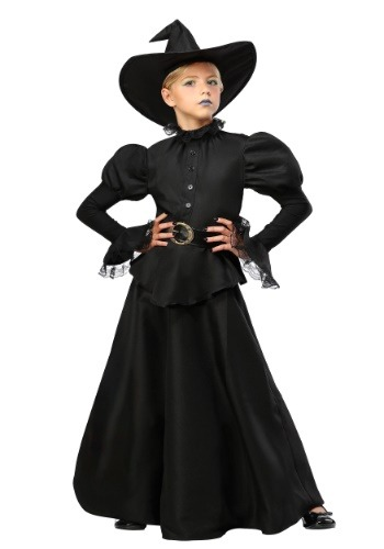 Click Here to buy Classic Black Witch Girls Costume from HalloweenCostumes, CDN Funds & Shipping