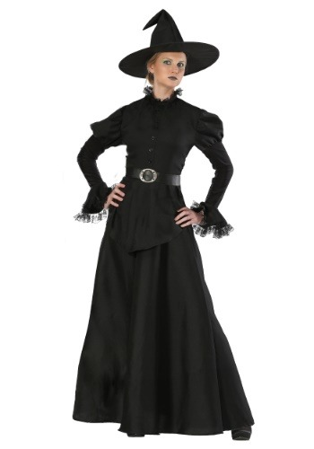 Click Here to buy Classic Black Witch Plus Size Womens Costume from HalloweenCostumes, CDN Funds & Shipping