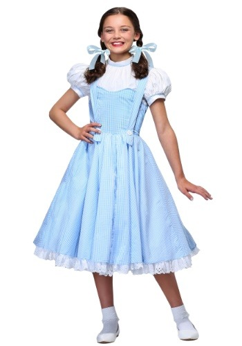 Deluxe Kansas Girl Kids Costume