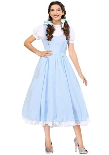 Click Here to buy Kansas Girl Deluxe Womens Costume | Wizard of OZ from HalloweenCostumes, CDN Funds & Shipping