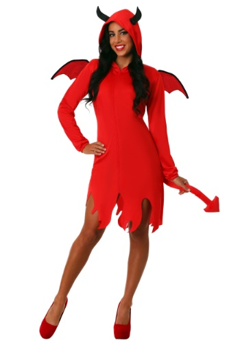 Click Here to buy Cute Devil Costume for Adults from HalloweenCostumes, CDN Funds & Shipping