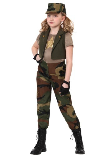 Click Here to buy Military Commander Girls Costume from HalloweenCostumes, CDN Funds & Shipping