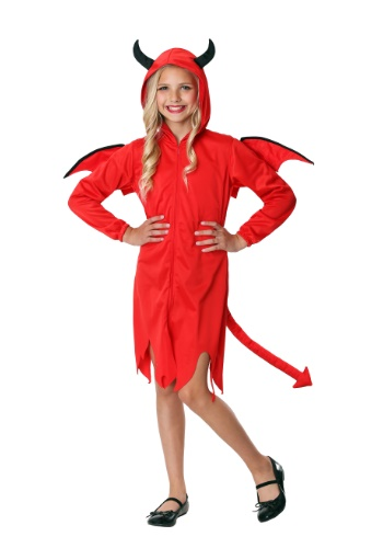 Click Here to buy Cute Devil Girls Costume from HalloweenCostumes, CDN Funds & Shipping