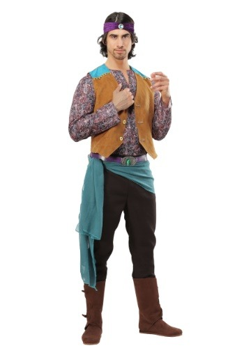Click Here to buy Fortune Teller Gypsy Mens Costume from HalloweenCostumes, CDN Funds & Shipping