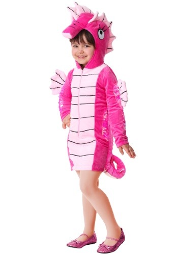Seahorse Costume for Toddler Girls