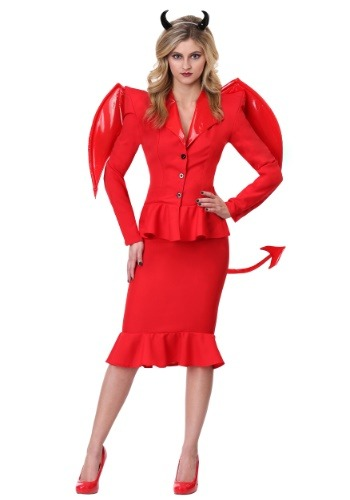 Click Here to buy Womens Fierce Devil Costume from HalloweenCostumes, CDN Funds & Shipping