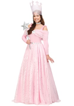 Deluxe Pink Witch Dress Costume