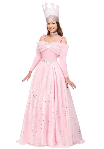 Deluxe Pink Witch Dress Costume for Women