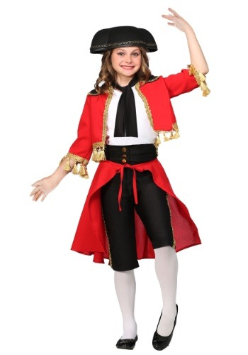 Beautiful Matador Costume for Girls