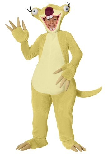 Ice Age Sid the Sloth Child Size Costume