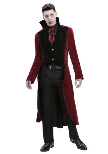 Plus Size Mens Dreadful Vampire Costume