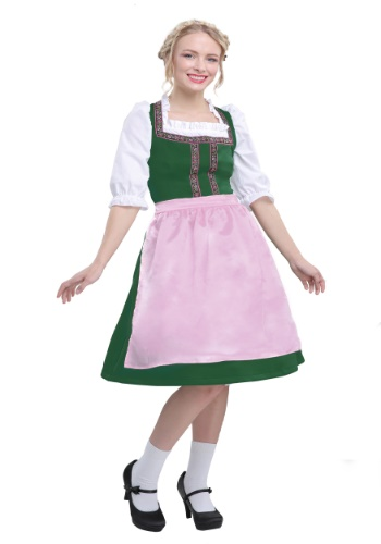 Womens Plus Size Oktoberfest Beauty Costume