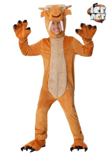 Diego the Sabertooth Tiger Costume for Boys