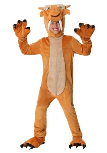 Diego the Sabertooth Tiger Costume
