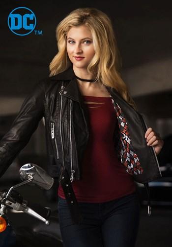 DC Harley Quinn Women's Moto Jacket