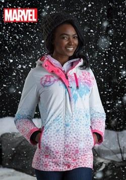 Marvel Avengers Womens Fade Ski Coat