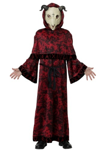 Click Here to buy Evil Skull Demon Kids Costume from HalloweenCostumes, CDN Funds & Shipping