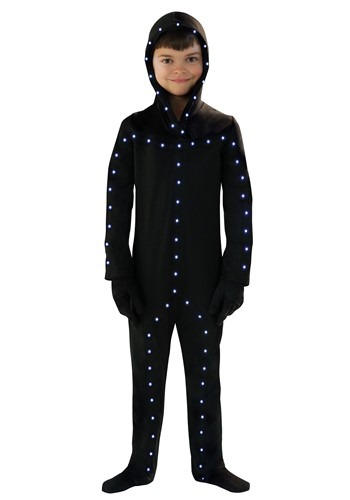 Click Here to buy Lighted Kids Stick Man Costume from HalloweenCostumes, CDN Funds & Shipping