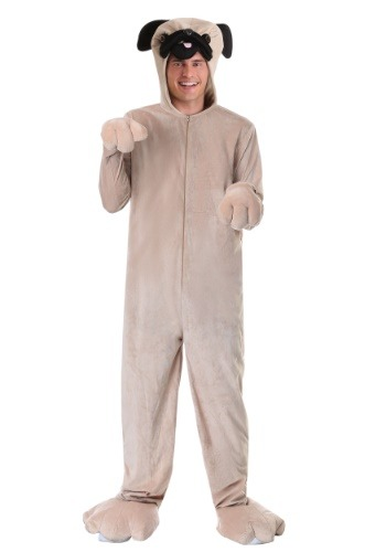 Click Here to buy Pug Costume for Adults from HalloweenCostumes, CDN Funds & Shipping