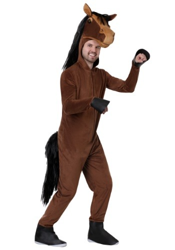 Click Here to buy Adults Horse Costume from HalloweenCostumes, CDN Funds & Shipping