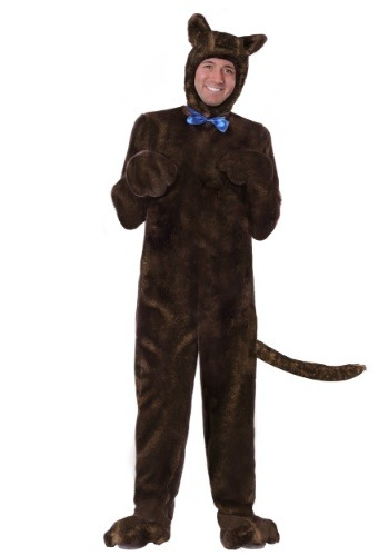 Click Here to buy Deluxe Brown Dog Costume Plus Size 2X from HalloweenCostumes, CDN Funds & Shipping