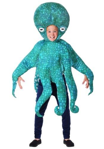 Blue Child Octopus Costume