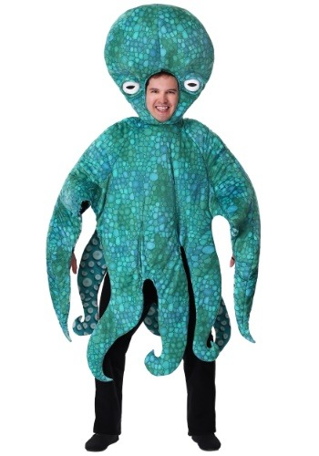 Blue Adult Octopus Costume