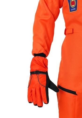 Adult Astronaut Orange Gloves